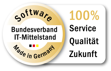 Signet für Software made in Germany