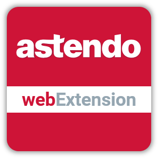 Icon der astendo webExtension